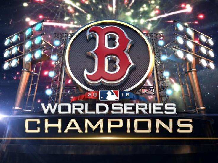 bostonredsoxworldserieschamps2018